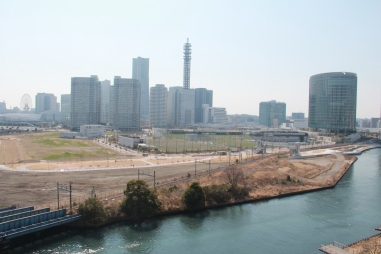 View from Balcony in Yokohama