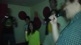 Karaoke fun in Koga