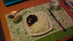My Successful Hamburgur dinner!