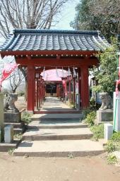 Shrine in park