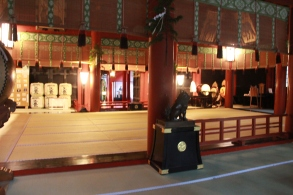 Inside the Shrine