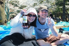 Friends at Hanami