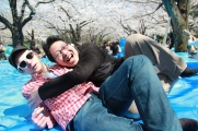 Friends at Hanami 2