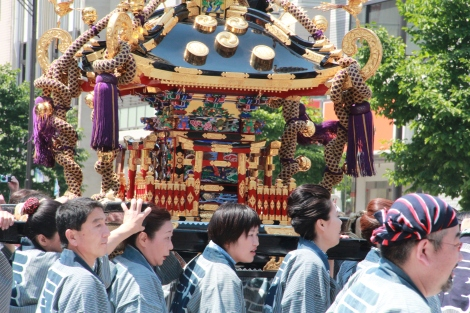 One of the Portable Shrines