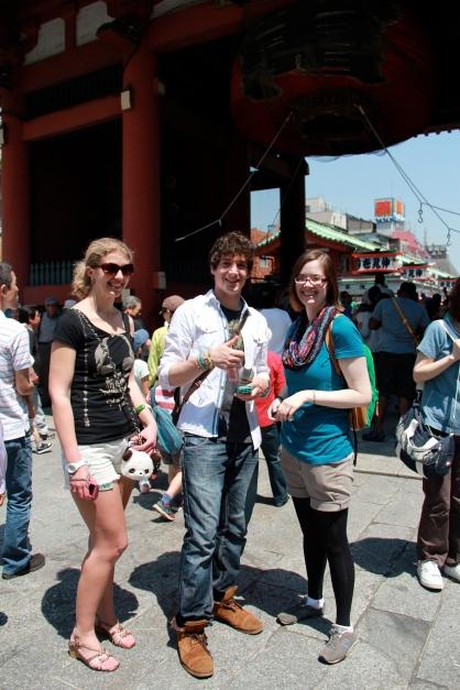 Friends in Asakusa
