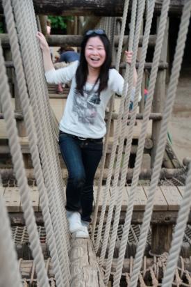 Kaori on Ropes