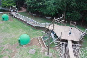 Zipline from Above
