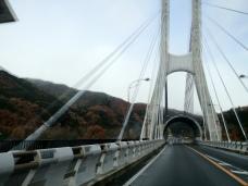 Crossing the Bridge in Gunma