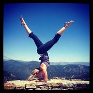 How I imagine my yoga