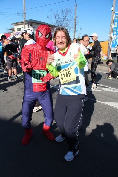 Becky and Spidey