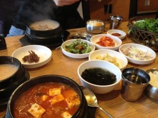 Kimchi and Bulgogi