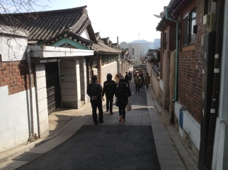Old architecture in Bukchon