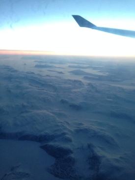 Flew over the Atlantic