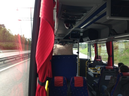 Took the bus to the center of town