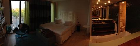 My hotel is nice