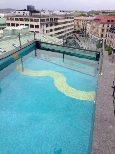 The pool on top of the Avalon