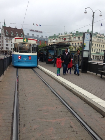 Trams around town