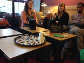 Coffee tasting with Swedes