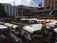 Camden Market was big
