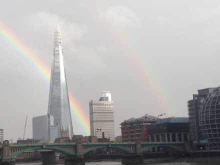 The Shard gave an awesome farewell