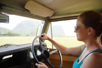 """Driving the Land Rover Series II """"Matilda"""""""