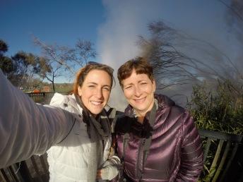 Rotorua selfie
