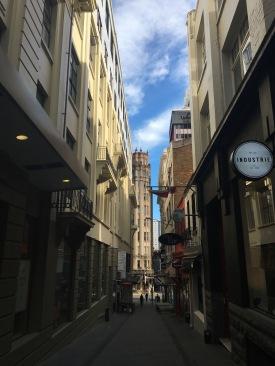 Auckland laneway