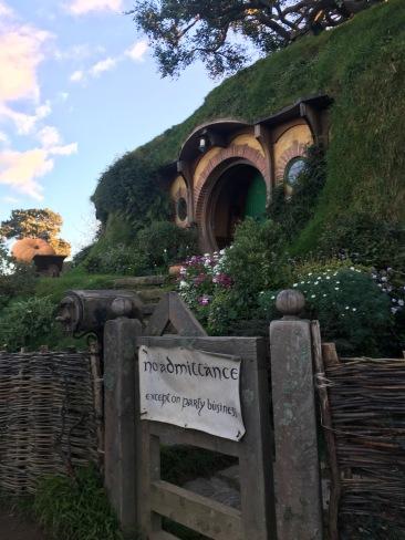 Hobbit banquet - Bilbo's House