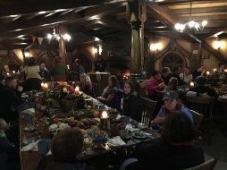 Hobbit banquet - The dining room