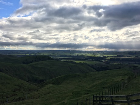 Outlook on the route to Wellington